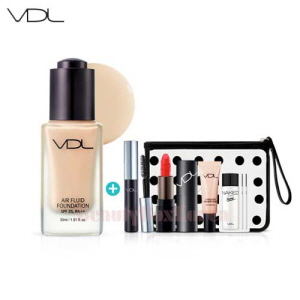 VDL Air Fluid Foundation Summer Vacance Kit 6items [August 2017 Limited]
